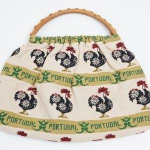 3 for $10 SALE Vintage Rooster Handbag Purse